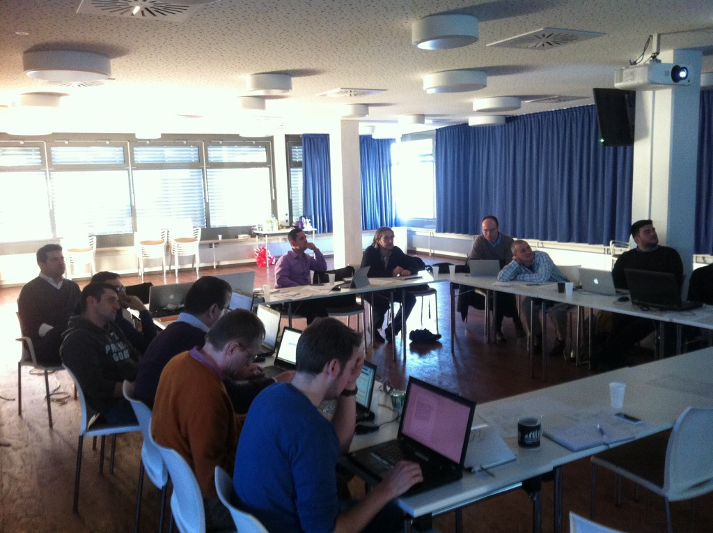 FLOBOT 12M meeting in Austria
