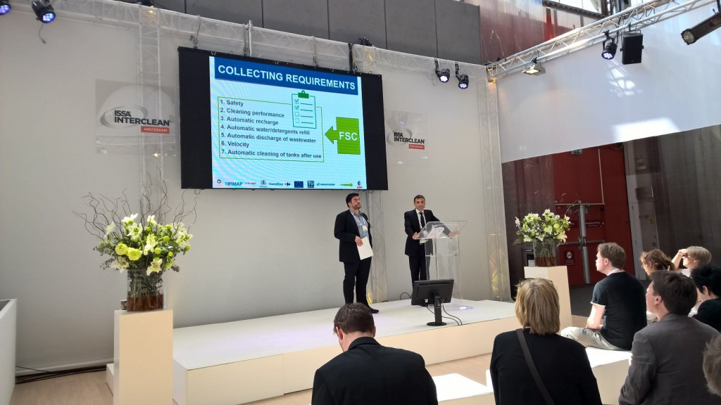 FLOBOT presence in ISSA/Interclean